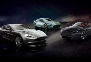 Aston Martin's Vanquish, V12 Zagato and V12 Vantage Roadster