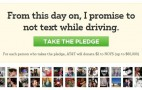 ATT Donates $2 For Every Person Who Pledges Not To Text & Drive