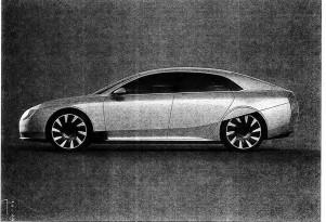 Atieva Atvus electric car image emerges; is it Tesla competition?