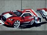 Audi A1 teased ahead of 2010 Geneva Motor Show