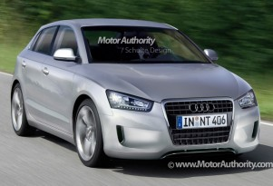 Audi A2 rendering
