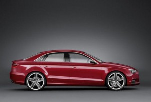 Audi A3 Sedan concept leaked