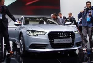 Audi A6 Hybrid:  Center of Attention