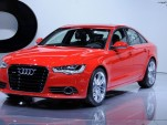 2012 Audi A6 live photos. Photo by Joe Nuxoll.