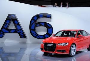 2012 Audi A6 live photos. Photo by Joe Nuxoll.