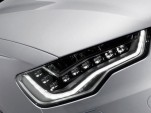 2012 Audi A6 all-LED headlights