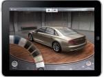 Audi A8 Experience app for iPad