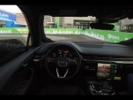 Audi and NVIDIA's self-driving concept car