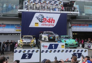 Audi at the 2015 Nürburgring 24 Hours