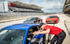 Learn to drive a new Audi R8 on a Formula One track