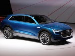 Audi e-Tron Electric Car To Offer 150-kW Quick Charging Sites