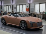 Audi e-tron Spyder Concept design process