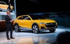 Audi Q6 h-Tron Quattro Concept Swaps In Hydrogen Fuel Cell For e-Tron's Battery
