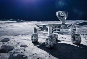 Audi Lunar Quattro developed for Google Lunar X Prize