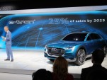 One-Quarter Of All Audis To Be Electric In 10 Years, Company Says