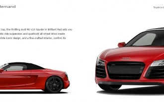 Audi On Demand Puts Audi In The Rental Car Business: R8 Spyder Available For $1285 Per Day