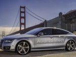 Audi Piloted driving: A7 Traffic Jam Pilot prototype in California