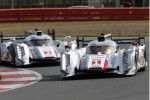 Audi R18 e-tron quattro in the 2013 WEC season opener at Silverstone