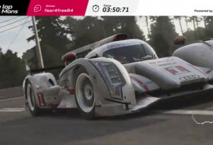 Audi R18 Forza perfect lap of Le Mans screencap