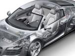 Audi R8 cut-away