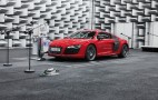 A Peek At Audi's e-tron e-sound Electric Car Sound System: Video