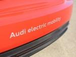 Audi R8 e-tron track drive, Berlin Tempelhof Airport