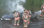 Audi R8 Burns To The Ground In Toronto: Video
