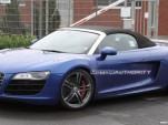 Audi R8 GT Spyder spy shots
