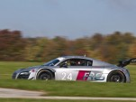 Audi R8 LMS testing for United SportsCar series.