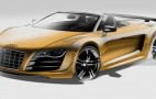 Audi Shows R8 Spyder GT Sketches