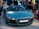 Audi R8 GT Spyder live photos