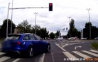 Audi RS 6 Driver Runs Red Light, Gets Smacked By Tram: Video