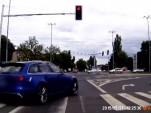 Audi RS 6 crash in Poznan, Poland