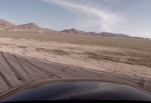 Audi RS4 Willow Springs Roll OVer