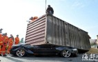 Unbelievable Survival Story Of The Week: Audi S5 Flattened By Shipping Container