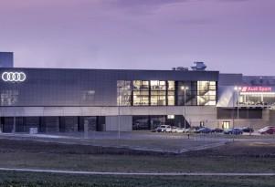Audi Sport headquarters in Neckarsulm, Germany