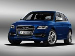 Audi SQ5 twin-turbo performance diesel crossover