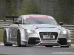 Audi TT RS endurance race car spy shots