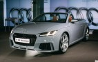 New Audi TT RS storms into 2016 Beijing Auto Show