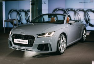 New Audi TT RS Roadster