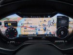 Audi virtual cockpit (reconfigurable display)  -  2016 Audi TT