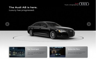 Audi Launches New Custom Interactive YouTube Channel