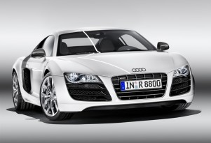 2009 Detroit Auto Show: Audi R8 V-10