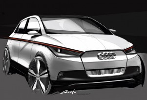 Audi A2 Concept Electric Car Due At 2011 Frankfurt Auto Show