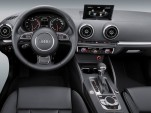 2013 Audi A3 Interior previewed at CES 2012