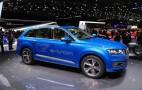 2016 Audi Q7 e-tron quattro Live At 2015 Geneva Motor Show