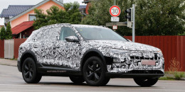2019 Audi e-tron Quattro electric spy shots - Images via S. Baldauf/SB-Medien