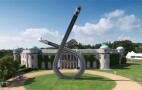 Audi Marks A Century Of Motoring With Giant Sculpture At Goodwood