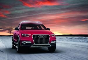 Audi's Q3 Red Track concept.