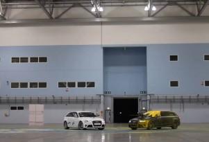 Audi's RS4 Avant, the ultimate painball gun